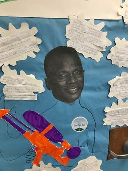 Lower School Door Displays Share African-American History with Creativity and Style