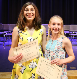 Middle School Awards Ceremony Celebrates Achievements