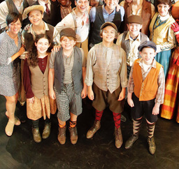 "Lower School Raven Featured in NC Theatre's ""Newsies"""