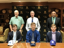 Three Ravenscroft Seniors Sign National Letters Of Intent
