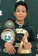 Wrestler Joel Brown '23 Has Two Top Finishes Over Holiday Break