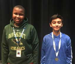 Middle School Students Compete in National Geographic GeoBee