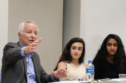 Former U.S. Ambassador to Pakistan Speaks to Students