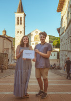 Two Ravens Soar at Spoleto Study Abroad