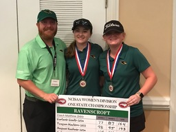 Golfers Smith '22 and Gould '24 Earn All-State and All-TISAC Honors