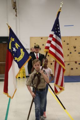 Lower School Veterans Day Program Focuses on Shared Commitment