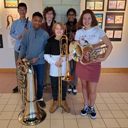Ravens Selected for Band, Strings Honors