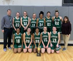 Varsity Girls Basketball Takes TISAC Co-Championship