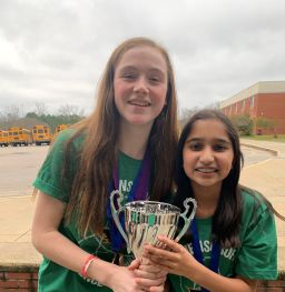 Middle School Science Olympiad Team Takes Sixth in Regional Tournament
