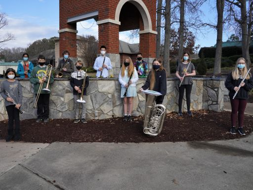 Fourteen Band Students Recognized in All-District Competition
